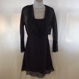 Be Smart 5/6 knee length lavender dress